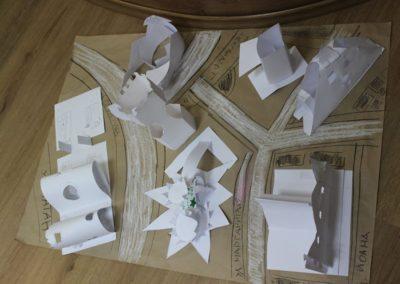 Пространствена работилница - град от хартия - ДаритаТаун
