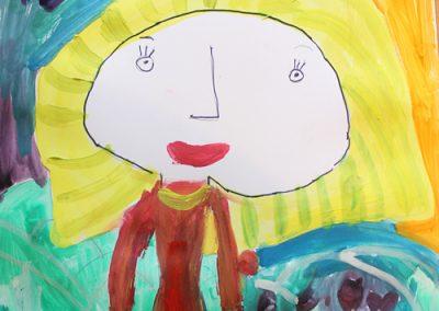 портрет-радост