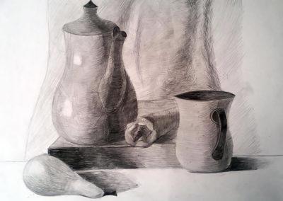 Натюрмолт с молив
