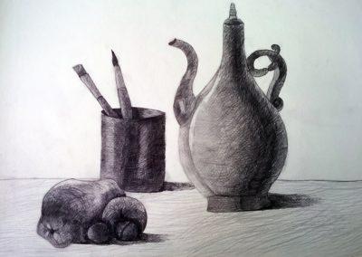 Натюлморт с молив