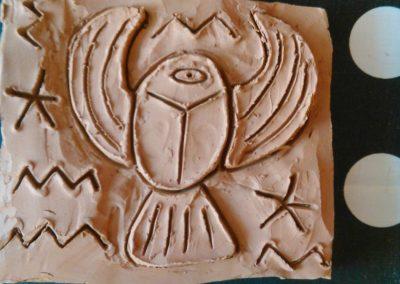 Арт работилница с глина - кръгла скулптура