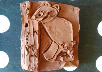 Работилница с глина - егепетски релеф