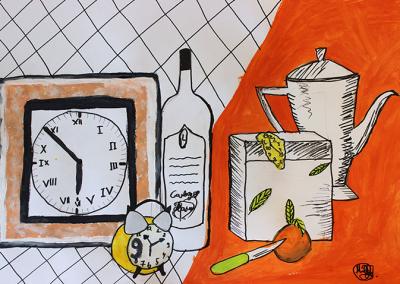 Курсове по рисуване за деца, стилистични задачи