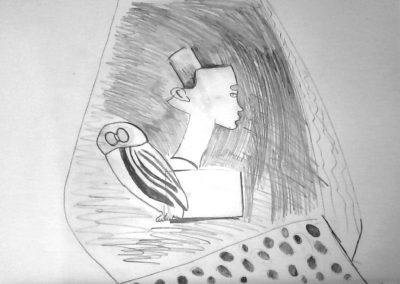 naturmort sys sova i skulptura-Toni