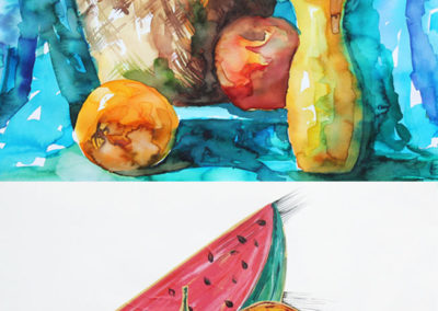 still life fruits