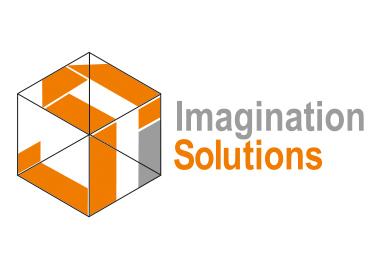 Лого дизайн и рекламни материали на фирма IMAGINATION SOLUTIONS